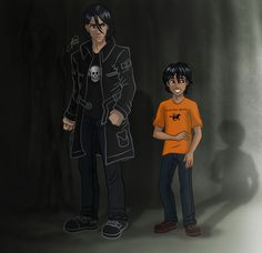 Nico Di Angelo younger and older