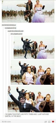 We need Leo DiCaprio frolicking and prancing in the background