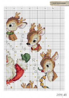 Thrilling Designing Your Own Cross Stitch Embroidery Patterns Ideas. Exhilarating Designing Your Own Cross Stitch Embroidery Patterns Ideas. Santa Cross Stitch, Cross Stitch Bookmarks, Cross Stitch Animals, Cross Stitch Charts, Cross Stitch Designs, Cross Stitching, Cross Stitch Embroidery, Christmas Embroidery Patterns, Christmas Patterns