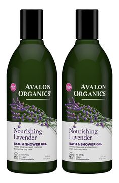 Avalon Organics Lavender Bath and Shower Gel, 12-Ounce Bottle (Pack of 2) *** You can find more details by visiting the image link. (This is an Amazon Affiliate link and I receive a commission for the sales)
