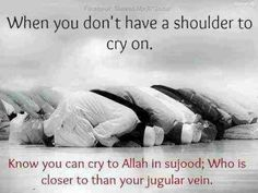 If you don't know how powerful sujood is then you should do it. It's a powerful thing... Talking to someone does not make me feel as good as sujood does. Sujood heals all kind of anxiety and sadness... I always ended up feeling so good and much better after praying.
