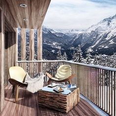 A ski home perfect for two... #Interiors #InteriorDesign #HomeDesign #HomeDecor #Design #Luxury #Home #DreamHome #Kitchen #RealEstate #Property #Realtor #Ski #Chalet #Skiing #Snow #France #Valentines