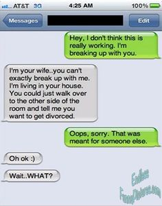 Will this make you laugh? now we call it a divorce