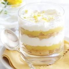 Lemon Trifle - I already know how I'm going to change...1st use fat free cool whip!  =)  Now...what to soak the lady fingers in....