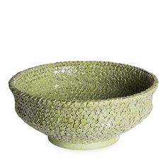 Verde Maiolica Bowl - Murano Glass Vases and Ceramic Vases from the finest Italian artisans - Home Décor and Interior Design ideas from Italy's finest artisans - Artemest