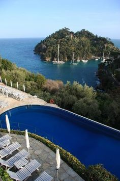 Portofino: Portofino, Italy Simply a world apart! Beautiful Places To Travel, Wonderful Places, Yves Klein, Sicily Italy, Genoa Italy, Portofino Italy, Cinque Terre Italy, Best Of Italy, Regions Of Italy
