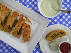 This Muslim Girl Bakes: Chicken Plait with Cheese Pastry.