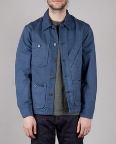 COVERALL JACKET TELLASON  220.00 The chore-coat is a quintessential  necessity for any man looking 0aeee1792de2