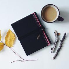 #notebook #handmadenotebook #handmade #madewithlove #blacknotebook #demiurgespark Handmade Notebook, My Notebook, Notebooks, My Photos, Etsy, Black, Black People, Notebook, Laptops