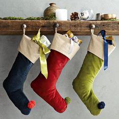 Velvet Stockings   west elm