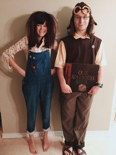 Young Carl And Ellie Costume