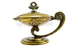...old oil lamp