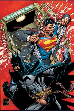 Superman & Batman by Ethan Van Sciver