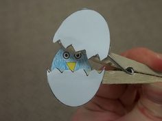 Bird craft for Preschool Storytime