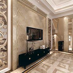 2014 Italian marble pattern designs for villa square marble pattern tille Tv Unit Decor, Tv Wall Decor, House Ceiling Design, Tv Wall Design, Home Theater Design, Home Interior Design, Home Entrance Decor, Home Decor, Tv Wanddekor