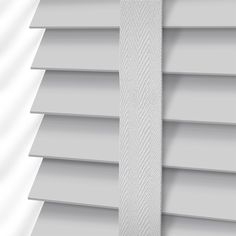 Pearl Grey & Mist Wooden Blind with Tapes - 50mm Slat