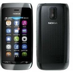Telefon mobil Nokia Asha 308 Black Dual Sim