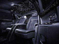 PHOTOS: Rolls-Royce Phantom starlight headliner