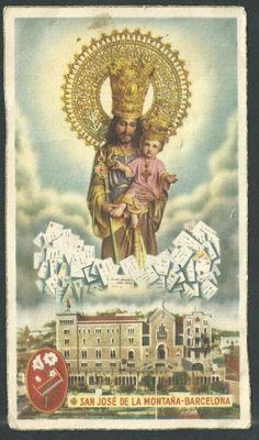 San Jose de la Montaña Holy Holy, Jesus Christ Images, Saint Joseph, Prayer Cards, Catholic, Beautiful Pictures, Prayers, Blessed, Movie Posters