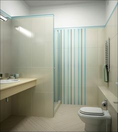 tank in wall unit ~ http://www.homedit.com/17-small-bathroom-ideas-pictures/