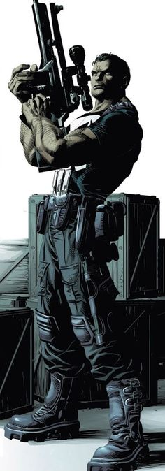 The Punisher by Mike Deodato Jr. Comic Book Artists, Comic Book Characters, Comic Book Heroes, Comic Artist, Marvel Characters, Comic Books Art, Hq Marvel, Marvel Comics Art, Bd Comics