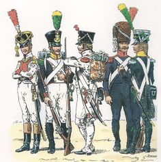 French Napoleonic Uniforms by Jacques Domange