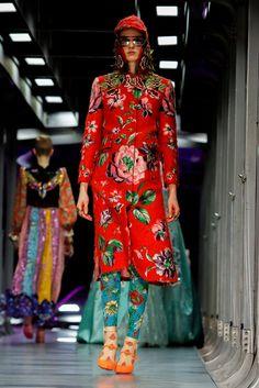 Alessandro Michele presents Gucci's fall designs.