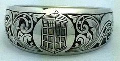 Dr Who wedding band Celebrate geek love with these 23 awesome sci-fi wedding rings