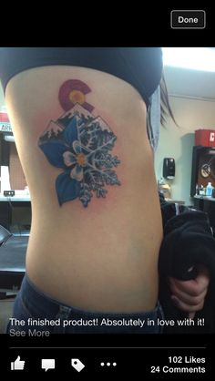 Love this tattoo! it just needs a bright sunset in the background!