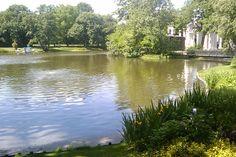Lake & a glimpse of amphitheatre