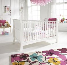 baby rooms | Baby Girls Room Decorating Ideas white-baby-girl-nursery-room ...