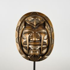 First Nations Volcano Woman Bronze edition by Haida artist Don Yeomans