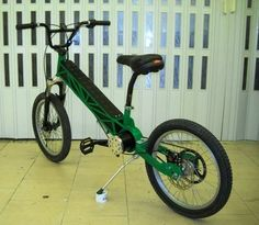 Size 7 Prototype by G. Oriolo - Electric bike 70km/h