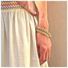 Mélanger les gourmettes en or jaune. Succès assuré.  #jotd #jewel #gourmette #bracelet #stacked  #18 carats #or #gold #jaune #bijou #waou #wanted #instapretty #love #instalove #woman #sélection #look #lookoftheday #fashion #OOTD #Tissaia #TissaiaLeclerc @TissaiaLeclerc
