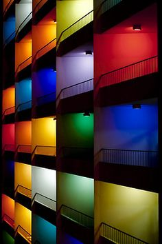 hiromitsu:  Balcony in colors by Pixels Poet on Flickr.