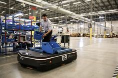 Autonomous mobile robot transports materials throughout the warehouse without the need for special infrastructure. (Courtesy of OTTO Motors) Mobile Robot, Crm System, Supply Chain, Big Data, That Way, Transportation, Challenges, Business, Car