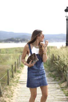 Permalink to Denim dungaree (& Stradivarius giveaway!)