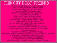 quotes about guy best friends - Google Search