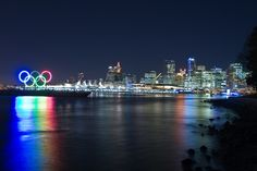 Downtown Vancouver, 2010 olympics.