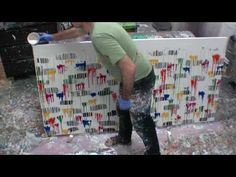 Learn to #Paint #Fluid Acrylic Paint Drip Artworks Art Lesson Technique visit my website for details http://www.artfusionproductions.com.au