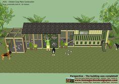 home garden plans: M201 - Chicken Coop Plans Construction - Chicken Coop Design - How To Build A Chicken Coop