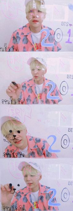 S U G A | [♡] BTS 2018 Season's greetings ~~
