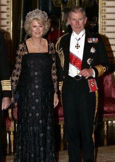 Charles looks dashing, Camilla I'm afraid looks a bit dowdy...