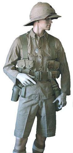 Australian tropical military uniforms - Google Search