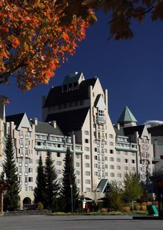Doesn't seem that long ago I was working here.... Can't believe it was 2 years ago! Chateau Whistler. Canada