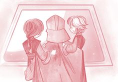"""siths-pretentious: """" """"We'll see them all someday, right?"""" """"…Correct."""" """""""
