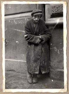 A Jew in a Ghetto, Poland, 1940