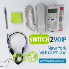 New York Virtual VoIP Phone Number Switch2Voip gives you a FREE New York VoIP virtual phone number with your Signup! What is a Virtual Phone number? A Virtual Phone Number, also called DID is a telephone number without a telephone line directly associated.  A Virtual number makes it possible for someone in a specific area code to call another area code as if it were a local call. New York virtual telephone numbers are normally programmed to forward the incoming calls >> http://switch2voip.us