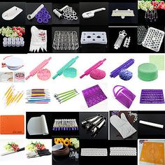 Various icing #piping decor #fondant cake nozzles bags rolling pin #modelling too,  View more on the LINK: 	http://www.zeppy.io/product/gb/2/141453402702/