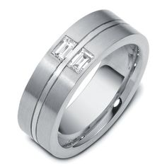 Speed Dating - Best Diamond Wedding Ring 2017 / white gold mm wide comfort fit diamond wedding band. The band has two Wedding Rings Simple, Diamond Wedding Rings, Diamond Rings, Wedding Bands, Wedding Reception, Wedding Venues, Wedding Sparklers, Wedding Gifts, 14k White Gold Earrings